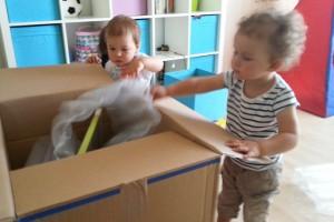 Kinderbetreuung-Freispiel