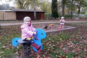 Kinderbetreuung-Outdoor