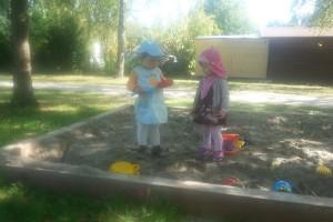 Kindertagesbetreuung-Spielplatz