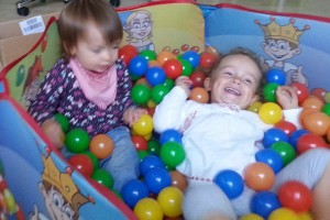 Kindertagespflege-Bällebad